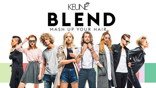 Keune Blend Mash Up Your Hair
