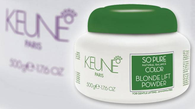Keune So Pure Color - Blonde Lift Powder