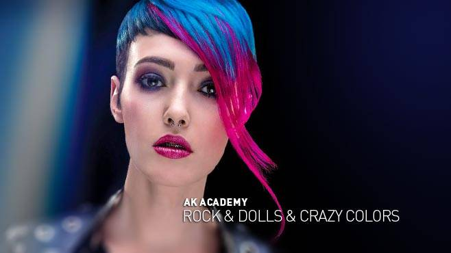 AK ACADEMY - ROCK & DOLLS & CRAZY COLORS
