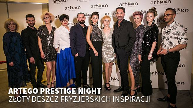 Artego Prestige Night Złoty Deszcz Fryzjerskich Inspiracji Hair