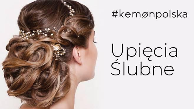 Kemon Upięcia ślubne Cz 2 Hair Trendy Portal Dla Fryzjerów