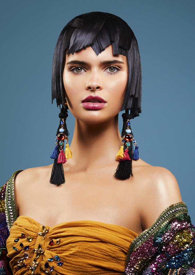 Michaela Campbell Echar Pila Hair Trendy Portal Dla Fryzjerów