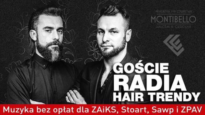 Wojtek Walczak I Jarosław Ciesiółka Goście Radia Hair Trendy
