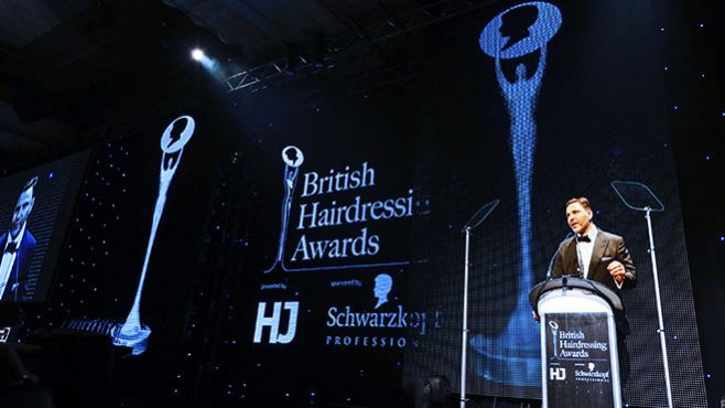 British Hairdressing Awards 2013