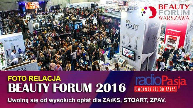 Radio Pasja na targach BEAUTY FORUM 2016