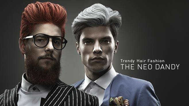 Trendy Hair Fashion - THE NEO DANDY