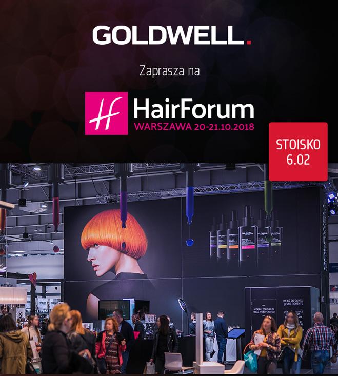 Odwiedź stoisko Goldwell na targach Hair Forum w Warszawie